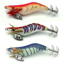 10cm 2.5# Soft Shrimp Prawn Worm Bait Lure Saltwater Squid Fishing Rigs Glow XN