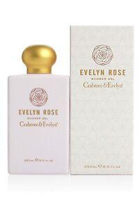 NIB Crabtree & Evelyn Evelyn Rose Shower Gel 8.5 fl oz / 250 ml