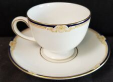 Wedgwood CAVENDISH Leigh Shape Cup & Saucer Mint(multiple available)