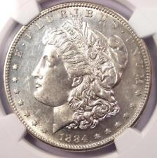 1884-S Morgan Silver Dollar $1 - NGC AU58+ PQ Plus Grade Registry. $4,000 Value!