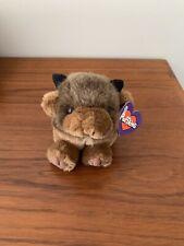 Biff the Buffalo Puffkins Plush Stuffed Animal  Swibco NWT*