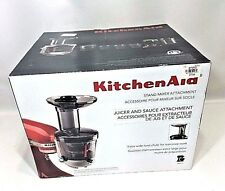 KITCHENAID Juicer & Sauce Extractor Attachment Stand Mixer KSM1JA NIB NEW