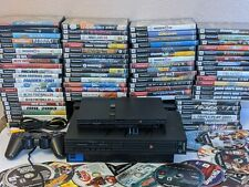 Sony PlayStation 2 Slim or fat Ps2 Console Bundle 6 Games, Tested