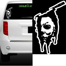 Micheal Myers vinyl decal- Halloween horror scary stickers knife death zombie