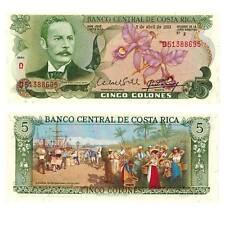 Costa rica 5 colones 1983 pick 236 UNC./294247# #