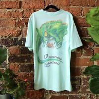 Vintage Jimmy Buffett T Shirt Caribbean Soul Small U Wanna Iguana Beach Island