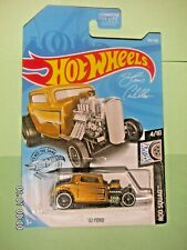 HOT WHEELS 2019 105/250  '32 Ford  ROD SQUAD 4/10  K CASE