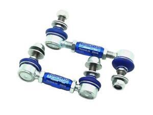 SuperPro Sway Bar Link Kit Heavy Duty Adjustable For Ford Focus MK3 10-15