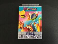 1992 SEGA GAME GEAR FANTASY ZONE NEW IN BOX PAL MULTILANGUAGE BOX