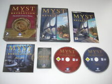 MYST IV 4 - Revelation - The Limited Collector's Edition Pc DVD Rom FAST POST