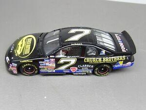 DALE EARNHARDT JR NASCAR DIECAST 1997 #7 CHURCH BROTHERS 1/24 ACTION