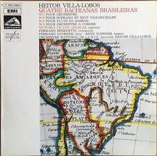 Villa-Lobos - Quatre Bachianas Brasileiras - Vinyl LP 33T