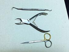 Podicatry Ingrown toe nail Ingrown extractor,scissors Ingrown nippers