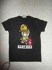 Taille 8 ans magnifique haut t-shirt à strass BABY MILO EXCELLENT ETAT