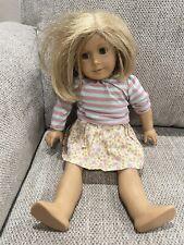American Girl Doll Blonde Hair Blue Eyes Short Hair