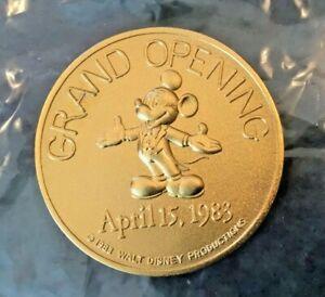 Disneyland Tokyo Grand Opening Commemorative Coin/Medallion Apr 15, 1983