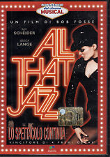 All that jazz. Lo spettacolo continua - J.LANGE, Film DVD 4 Oscar, 118min- ST891