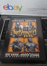 JUDGMENT DAY 2003 wwe wrestling dvd HHH