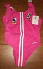 Disney Mickey & Co Minnie Mouse Womens Bathing Suit sz 12 1/2 NWT vintage