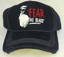 DUCK (Dynasty) COMMANDER FEAR THE BEARD Stressed Cap Men's One Size 100% Cotton