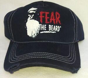 DUCK (Dynasty) COMMANDER FEAR THE BEARD Stressed Cap Men's One Size 100% Cotton