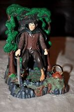 LORD OF THE RINGS LOTR VINTAGE 1ST FRODO & RINGWRAITH DIORAMA w/ ONE RING RARE