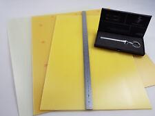 3 pcs. fr4 CCA/Epoxy-Plaque 1 mm/1,5 mm/2 mm divers formats +++