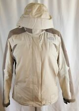 The North Face Tan Brown Jacket Summit Series Primaloft Hoodie Woman Size Small