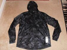 Under Armour Men's Large Pursuit Windbreaker Zipper Camo Wind Breaker Jacket NWT