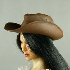 1/6 Scale Phicen, Hot Toys, Kumik, Cy, ZC, SD - Female Brown Leather Cowgirl Hat