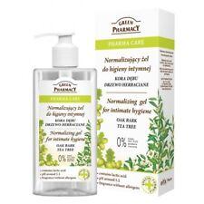 Green Pharmacy Normalising gel for intimate hygiene Oak Bark Tea tree 300ml SALE
