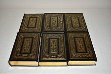 EASTON PRESS Complete 6V Set THE SECOND WORLD WAR Winston Churchill 1ST LEATHER!