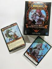 New Sealed World of Warcraft Sylvanas Champion Deck WoW TCG CCG No Booster