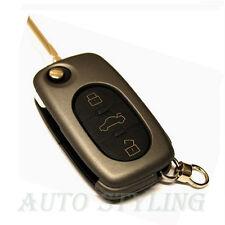 Carbone Grigio cover chiave per AUDI 3 pulsante caso fob remoto PROTECTOR CAP AUTO 41cg