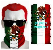 Mexican Mexico Flag Multi-Scarf Face Mask Bandana Balaclava US Seller 4H3