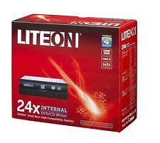 LiteOn IHAS 324-17 24x DVDRW RETAIL Pack, Negro