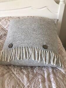 Bronte By Abraham Moon Woollen Cushion