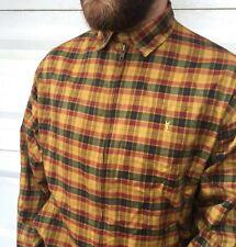 90s Vintage Mens YVES SAINT LAURENT Harrington Jacket Checked Multicolor Size L