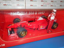 MIN185970095 by MINICHAMPS FERRARI F310B #5 M.SCHUMACHER WITH FIGURE 1997 1:18