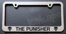 The Punisher Chrome License Plate Frame