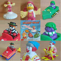 McDonalds Happy Meal Toy 1994 Winter Sports McDonaldland Figures Toys Various