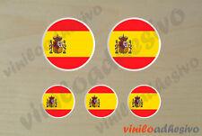 PEGATINA STICKER VINILO Bandera lente España Spain autocollant aufkleber adesivi