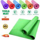 Yoga Mat 170cm x 61cm Non Slip Exercise Gym 3MM Thick Pilates Workout Fitness