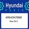 49543H7000 Hyundai 49543h7000 49543H7000, New Genuine OEM Part