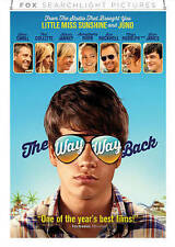 The Way Way Back(DVD, 2013)STEVE CARELL TONI COLLETTE SAM ROCKWELL ZOE LEVIN
