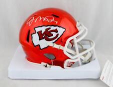 f42c178ad5c Joe Montana Autographed Kansas City Chiefs Chrome Mini Helmet- JSA Auth   White