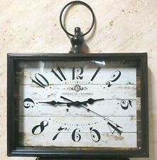 Wall Clock Vintage Decor Home Gift Three Centuries Castle Room Traditions France