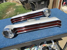 1968 68 Chrysler 300 TAIL LIGHTS ORIGINAL PAIR GOOD USED Newport New Yorker