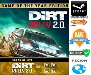 DiRT Rally 2.0 Game of the Year Edition GOTY PC Steam GLOBAL  **FAST DELIVERY**