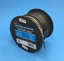 DEKA 16 AWG BLACK Marine Tinned Copper Boat Stranded Wire 100 Feet Made in USA